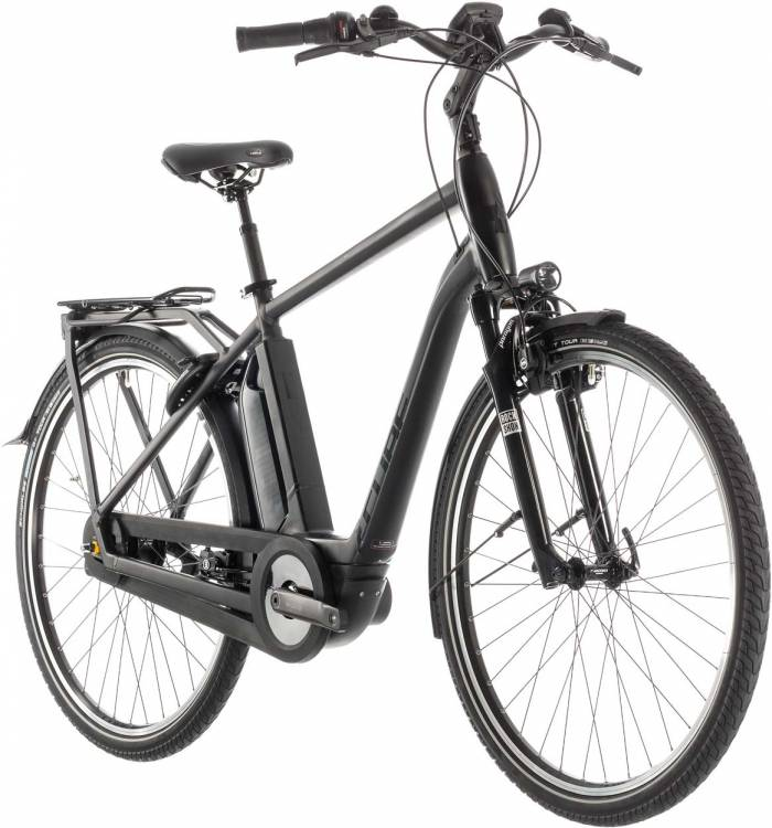 Cube Town Hybrid EXC 500 black edition - Hombres 2019