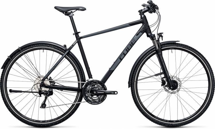 Cube Nature Allroad black n grey 2017 - Bicicleta Cross Hombres