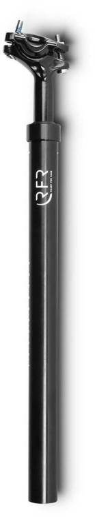 Tija de sillín con suspensión RFR (60 - 90 kg) negra - 31,6 mm x 400 mm