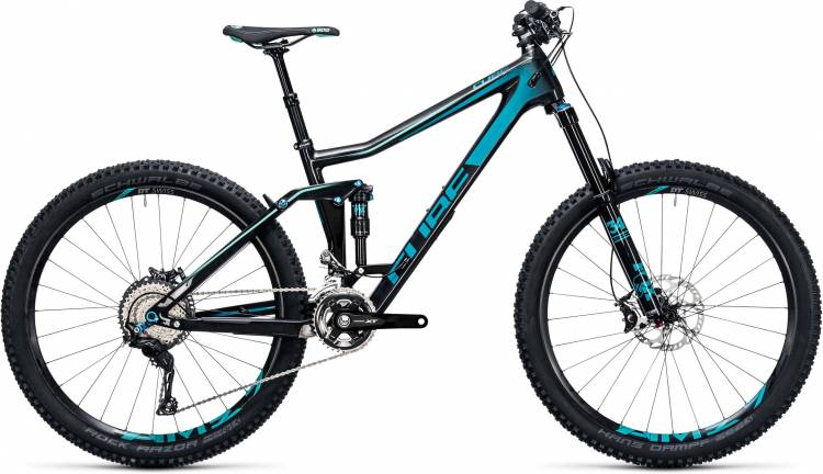 Cube Stereo 160 C:62 Race 27.5 carbon n blue 2017