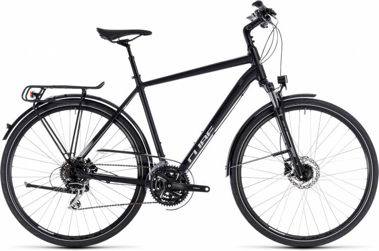 Cube Touring ONE black n grey 2018 - Bicicleta Trekking Hombres