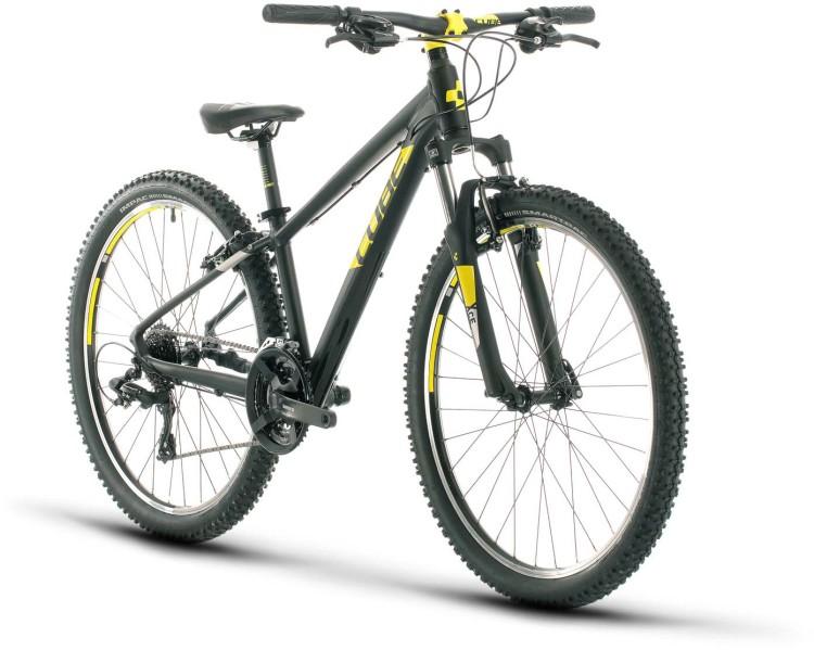 Cube Acid 260 black n yellow 2021 - Bicicleta Niños 26 Pulgadas