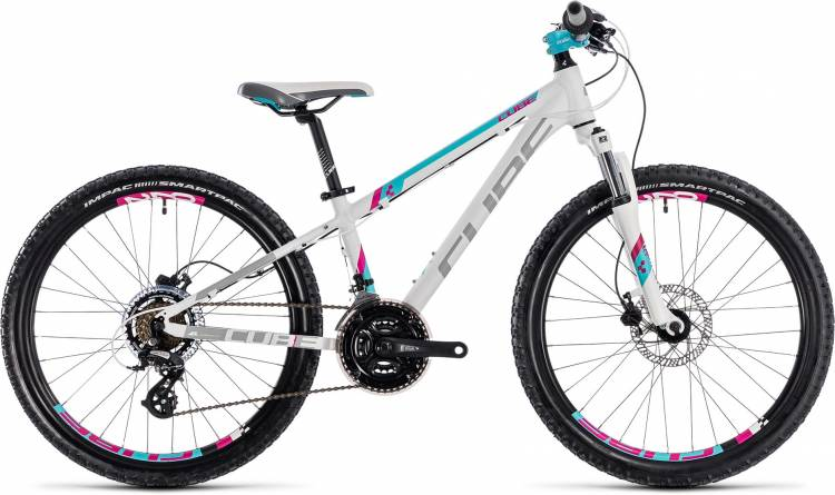 Cube Kid 240 Disc girl white n aqua 2018