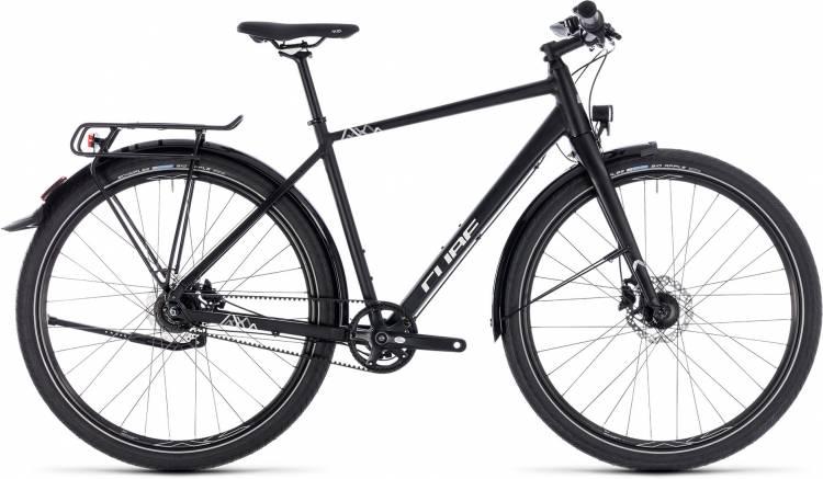 Cube Travel Pro black n white 2018 - Bicicleta Trekking Hombres
