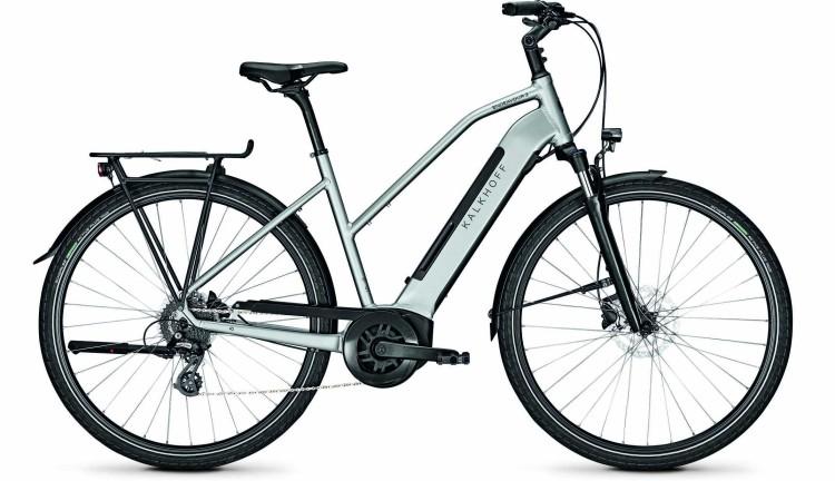 Kalkhoff Endeavour 3.B Move smokesilver glossy (Trapez) 2020 - Bicicleta-Eléctrica Trekking Damas
