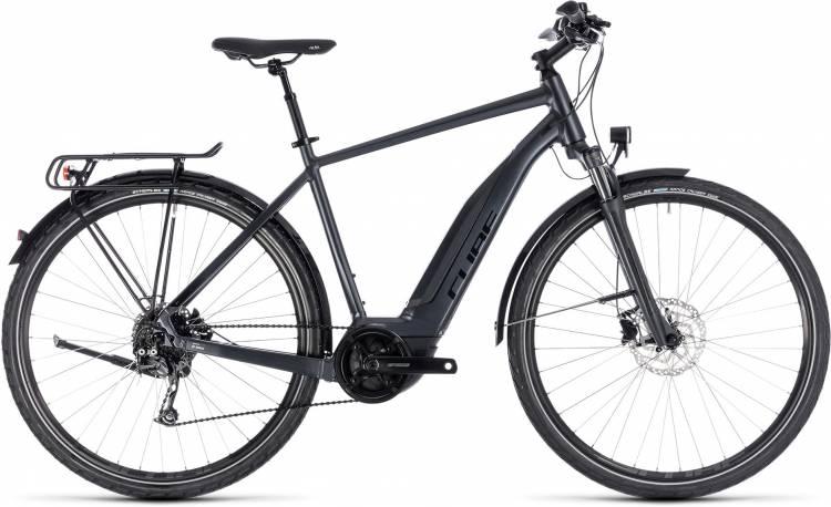 Cube Touring Hybrid ONE 500 iridium n black 2018 - Bicicleta-Eléctrica Trekking Hombres