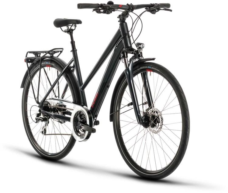 Cube Touring ONE iridium n red 2020 - Bicicleta Trekking Damas