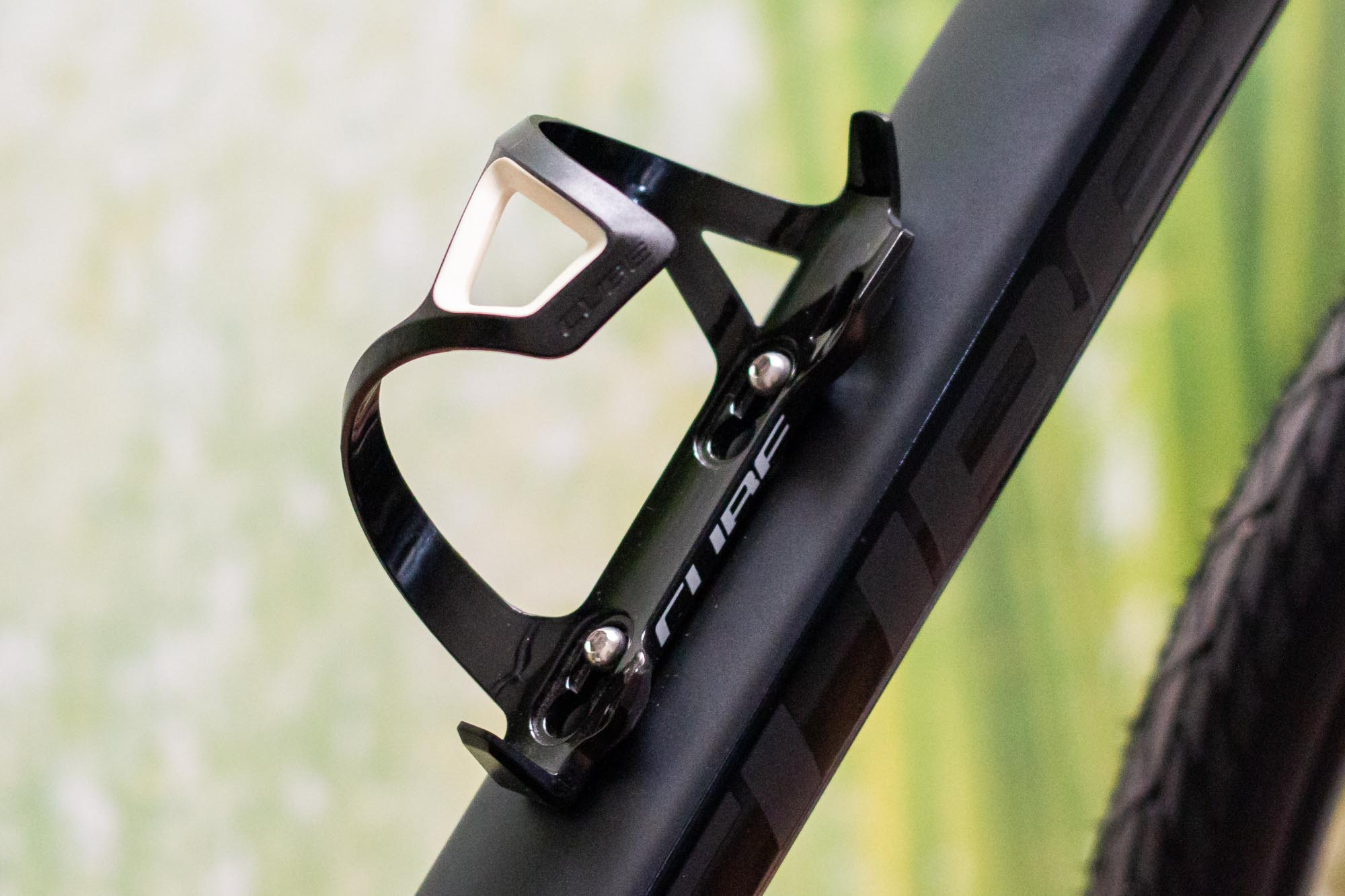 SKS topcage bicicleta//MTB portabidones negro//blanco