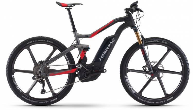 Haibike XDURO FullSeven Carb. 10.0 500Wh carbon/anthr./rot matt 2017