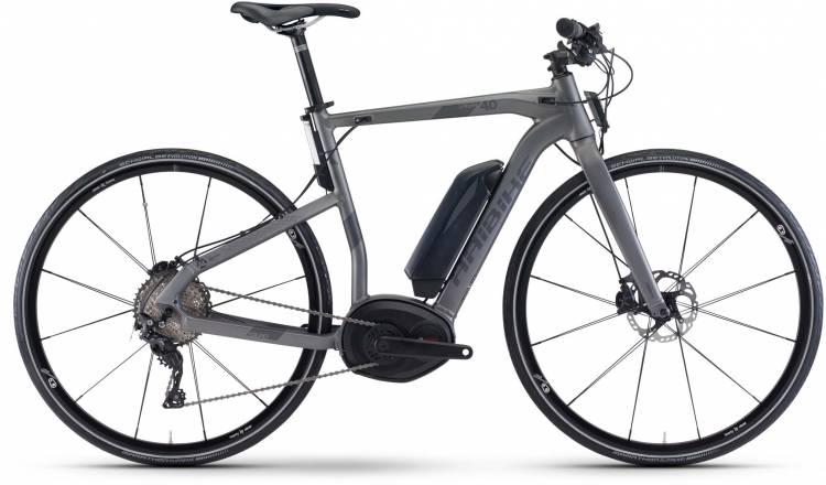 Haibike XDURO Urban 4.0 500Wh titan/anthrazit matt 2017 - Bicicleta-Eléctrica Fitness Hombres