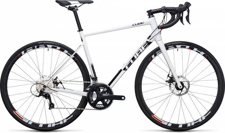 Cube Attain Pro Disc white n black 2017