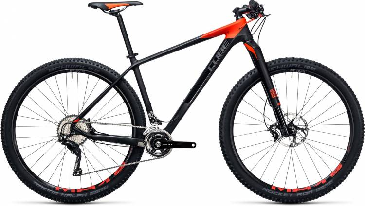 Cube Reaction GTC SLT 2x 27.5/29 carbon n flashred 2017 - MTB Rígida