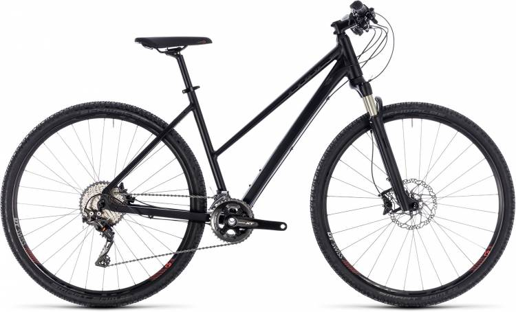 Cube Cross SL black edition 2018 - Bicicleta Cross Damas Trapecio