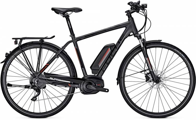 Focus Aventura Pro grey 2017 - Bicicleta-Eléctrica Trekking Hombres
