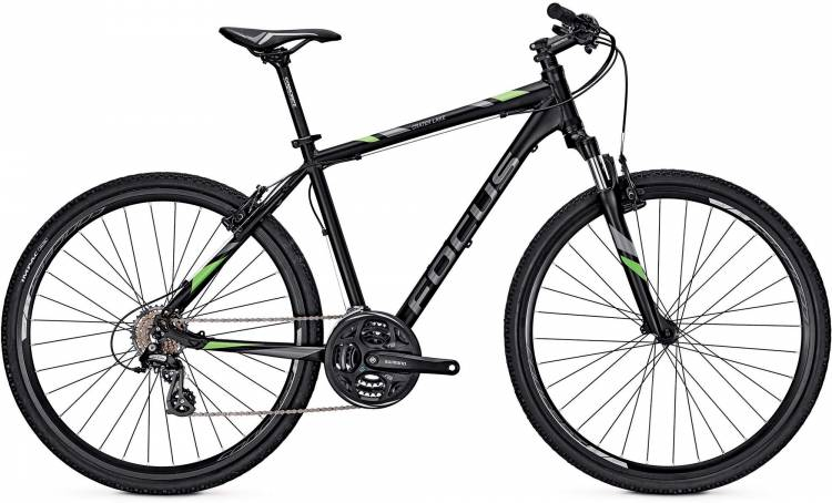 Focus Crater Lake Elite black 2017 - Bicicleta Cross Hombres