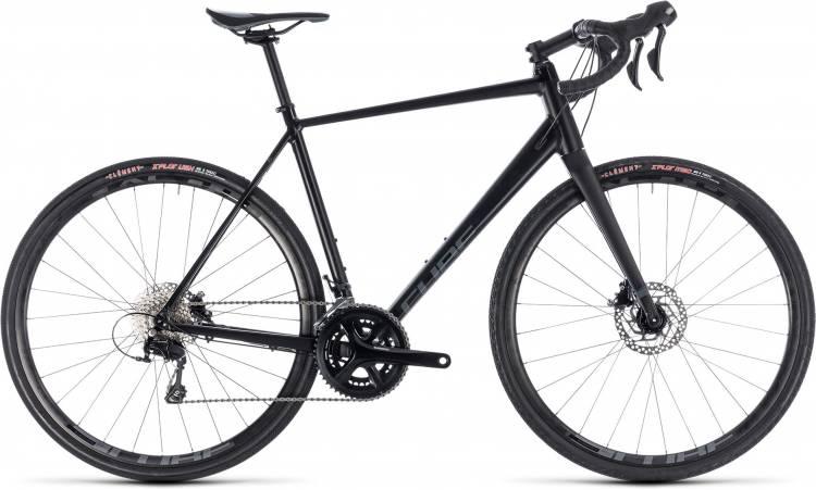 Cube Nuroad Pro black n grey 2018 - Bicicleta de Ciclocross