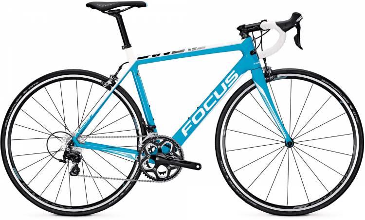 Focus Cayo 105 M blue/white 2017 - Bicicleta de Carrera Carbono Hombres