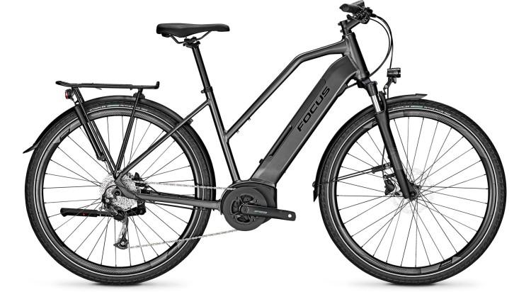 Focus Planet2 5.7 Diamond Black 2021 - Bicicleta-Eléctrica Trekking Damas