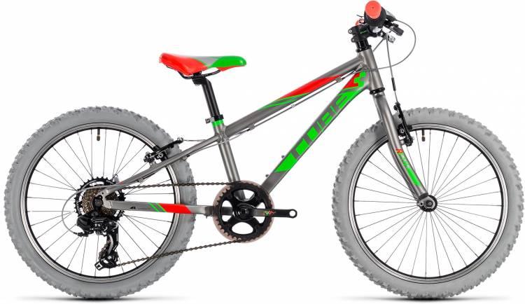 Cube Kid 200 grey n green 2018 - Bicicleta Niños 20 Pulgadas