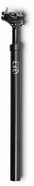 Tija de sillín con suspensión RFR (80 - 120 kg) negra - 31,6 mm x 400 mm