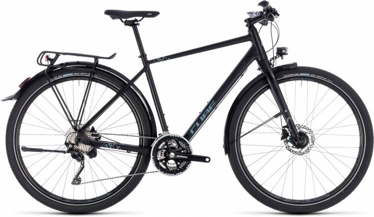 Cube Travel EXC black n grey 2018