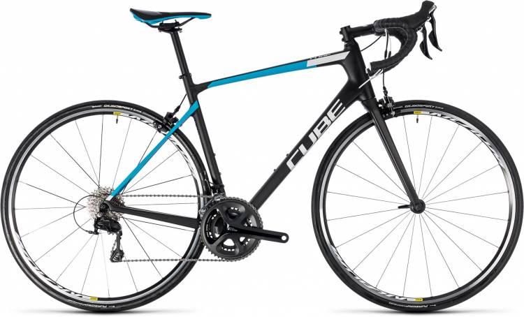 Cube Attain GTC Pro carbon n blue 2018 - Bicicleta de Carrera Carbono Hombres
