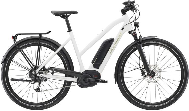 Diamant Elan+ GOR Weiss 2020 - Bicicleta-Eléctrica Trekking Damas