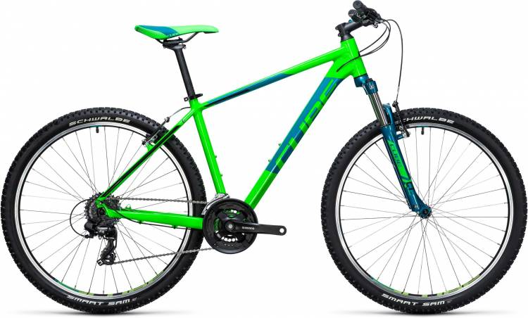 Cube Aim 27.5 green n blue 2017