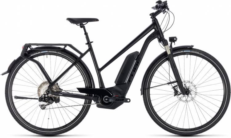 Cube Kathmandu Hybrid SL 500 black edition 2018 - Bicicleta-Eléctrica Trekking Damas Trapecio