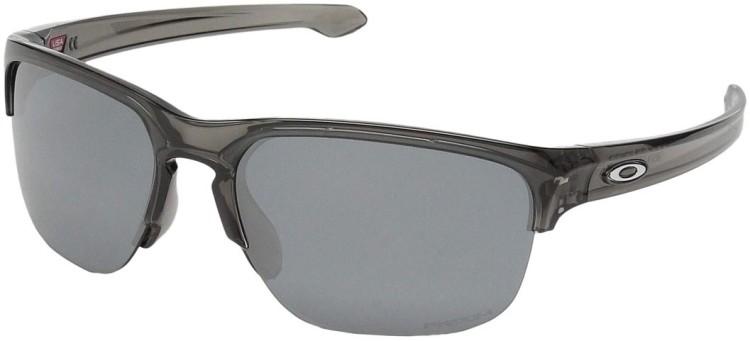 Oakley Silver Edge Grey Smoke / Prizm Black Iridium