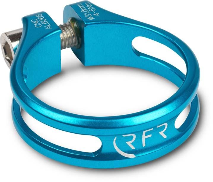 Abrazadera de asiento RFR Ultralight 31,8 mm azul