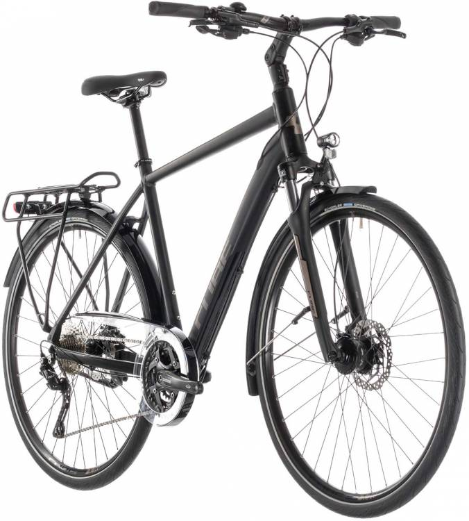 Cube Touring EXC black n brown - Hombres 2019