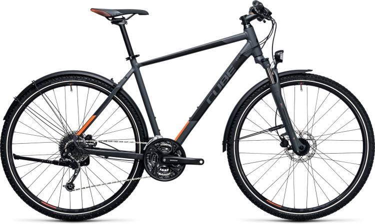 Cube Curve Allroad grey n flashorange 2017 - Bicicleta Cross Hombres