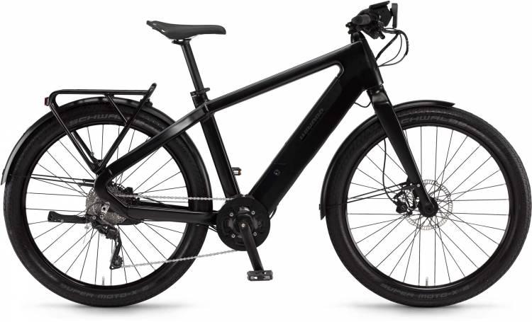 """Winora radar tour 500Wh 27.5"""" schwarz/schiefer matt 2017 - Bicicleta-Eléctrica Fitness Hombres"""