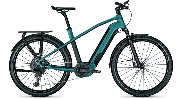 Kalkhoff Entice 7.B Advance topasblue/magicblack matt (Diamond) 2021 - Bicicleta-Eléctrica Trekking Hombres