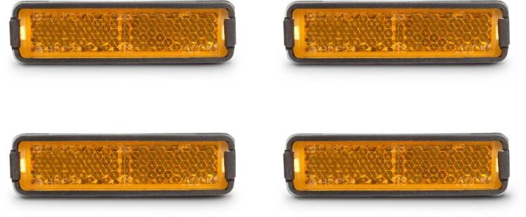 RFR Pedal Reflector Set naranja