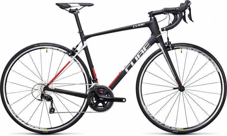 Cube Attain GTC carbon n red 2017 - Bicicleta de Carrera Carbono Hombres