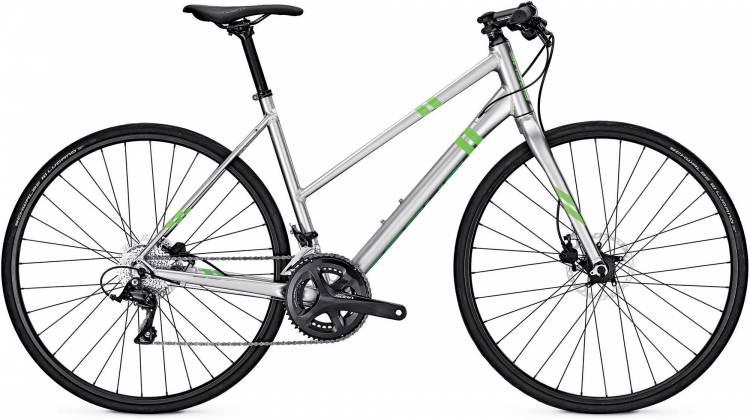 Focus Arriba Sora chromosilver 2017 - Bicicleta Fitness Damas Trapecio