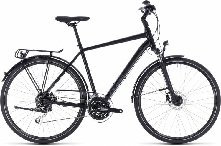 Cube Touring EXC black n grey 2018 - Bicicleta Trekking Hombres