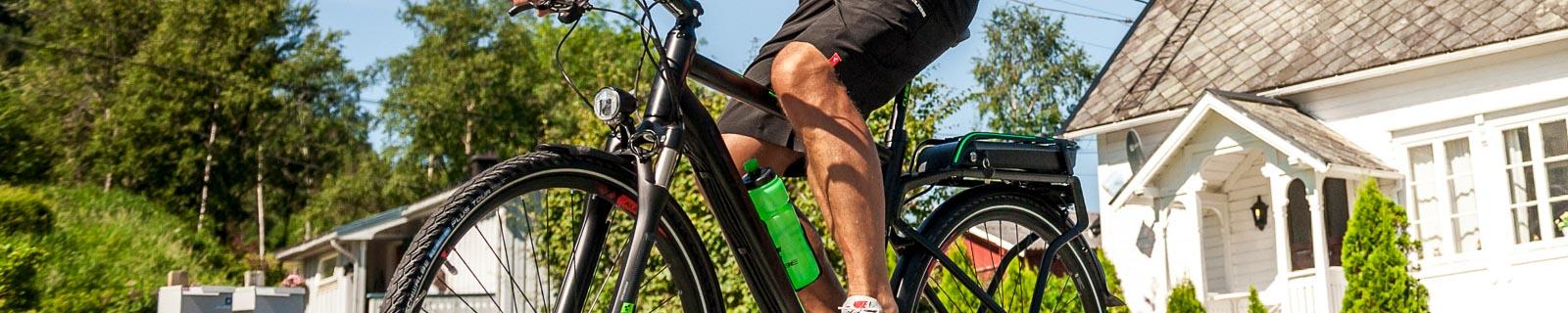 Bicicleta E- Trekking para hombres