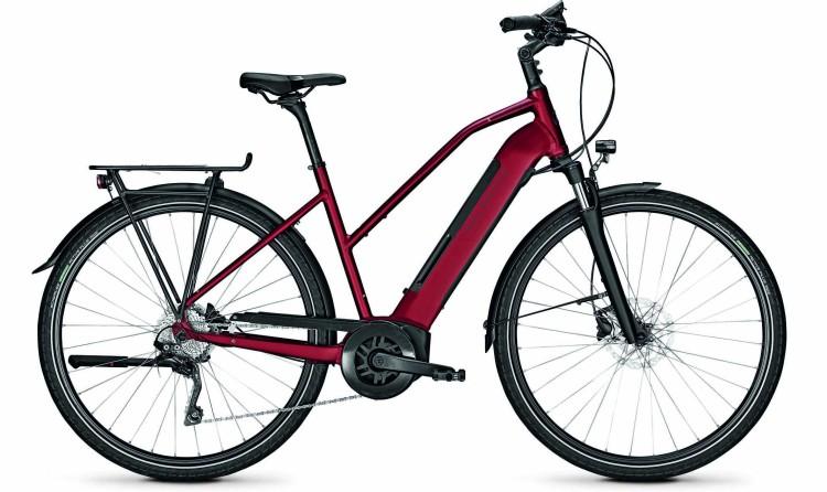 Kalkhoff Endeavour 3.B Advance winered matt (Trapez) 2020 - Bicicleta-Eléctrica Trekking Damas