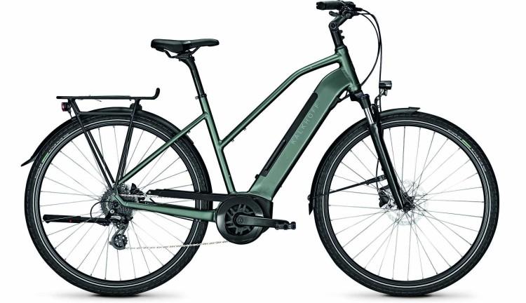 Kalkhoff Endeavour 3.B Move techgreen matt (Trapez) 2020 - Bicicleta-Eléctrica Trekking Damas