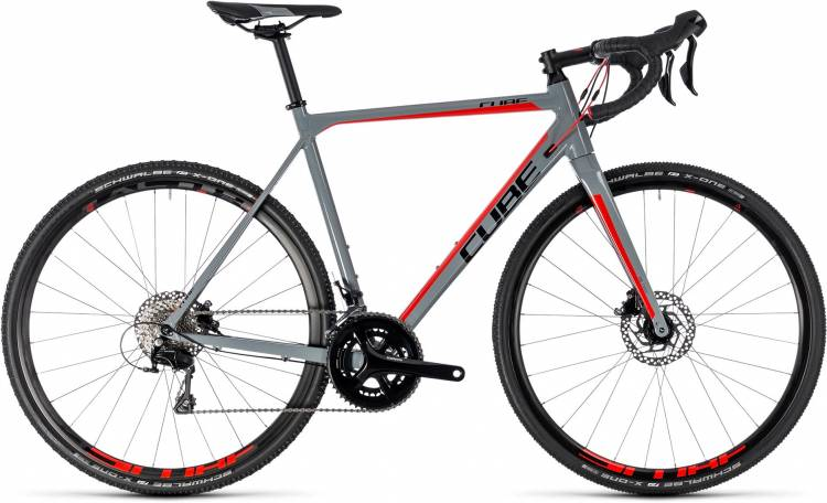 Cube Cross Race Pro grey n red 2018 - Bicicleta de Ciclocross
