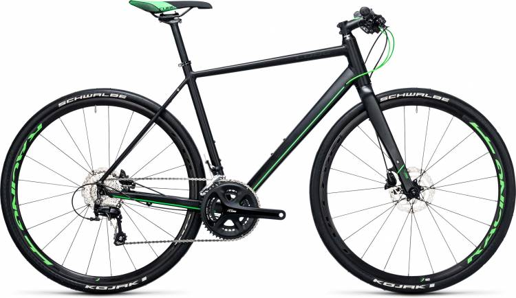 Cube SL Road Race black n flashgreen 2017