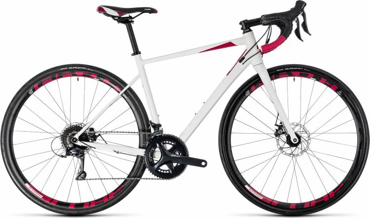 Cube Axial WS Pro Disc white n berry 2018