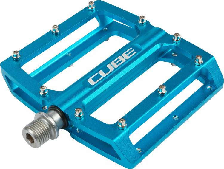 Pedales Cube ALL MOUNTAIN - Azul