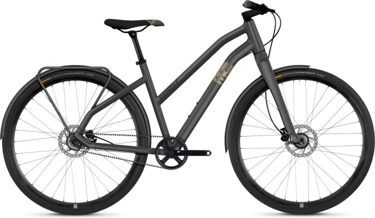 Ghost Square Urban 3.8 AL 2021 - Bicicleta Fitness Damas Trapecio