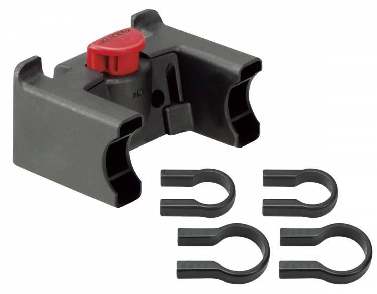 Adaptador universal para manillar Rixen & Kaul KLICKfix negro 22-26mm & 31,8mm