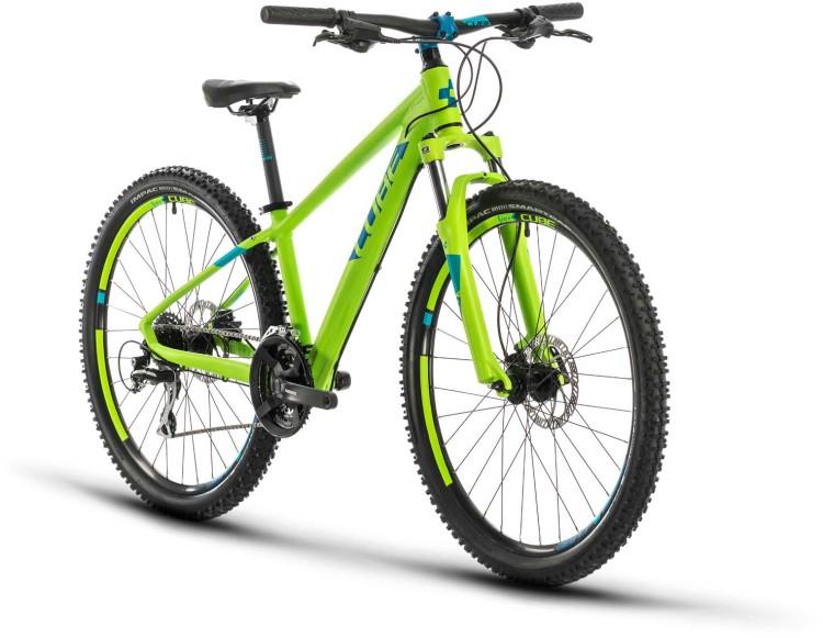 Cube Acid 260 Disc green n blue 2021 - Bicicleta Niños 26 Pulgadas