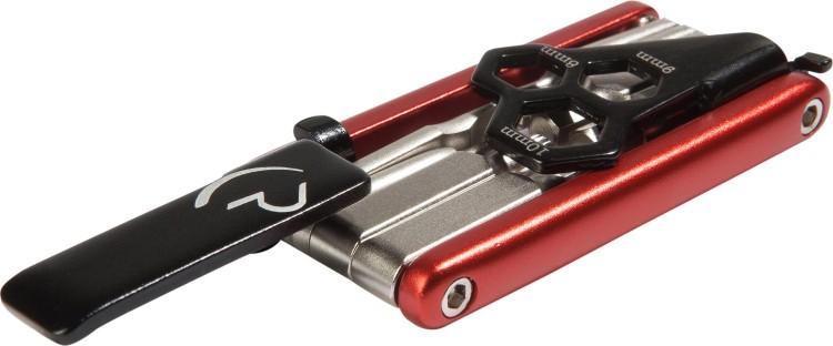 Multi-herramientas Cube 12 rojo